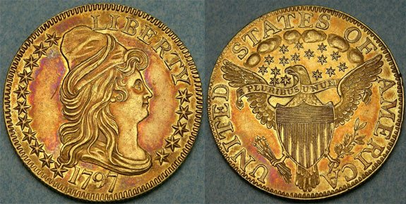 Draped Bust Half Eagle